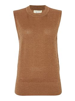 Metallic Knitted Tank