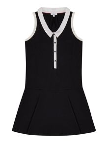 Hugo Boss Girls Two Material Dress