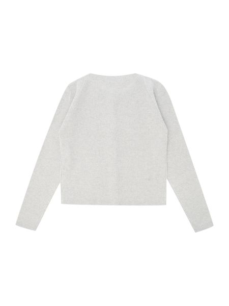 Hugo Boss Girls Lurex Thread Kitted Cardigan