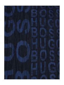 Hugo Boss Boys Poplin Scarf