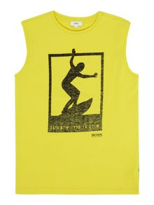 Hugo Boss Boys Tank Top