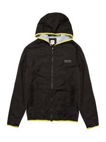 Hugo Boss Boys Coated Wind Breaker