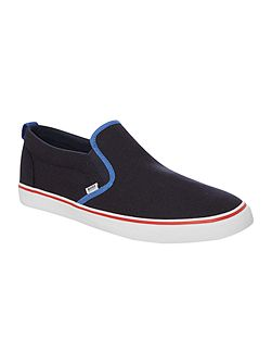 Boys Canvas Trainers