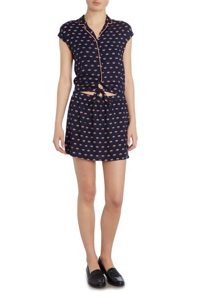 Une Fille Girls Printed dress