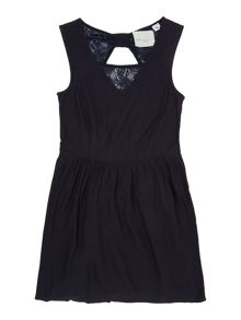 Une Fille Girls Open back dress
