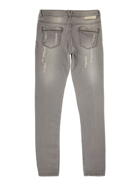 Une Fille Girls Grunge style denim trousers