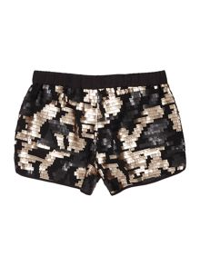 Une Fille Girls Sequined shorts