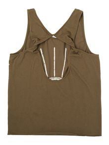 Une Fille Girls Jersey tank top
