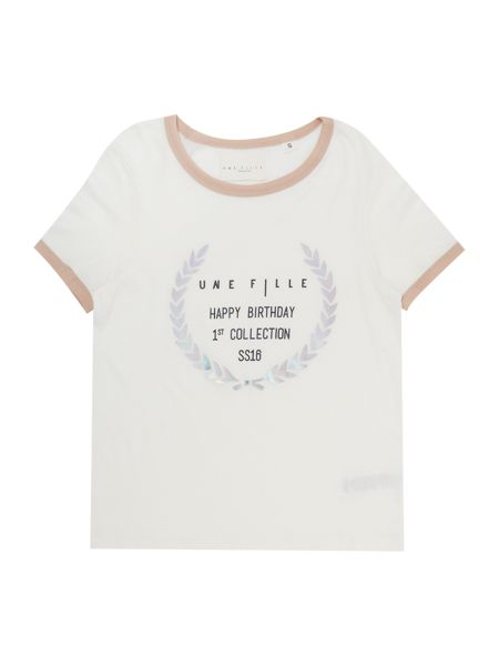 Une Fille Girls Short sleeve t-shirt