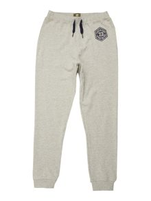 Boys Chino suede jogging bottom