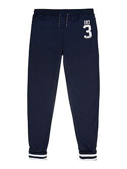 Boys Chino fleece jogging bottom