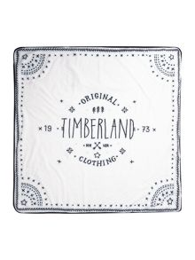 Timberland Baby boys Quilted cotton blanket