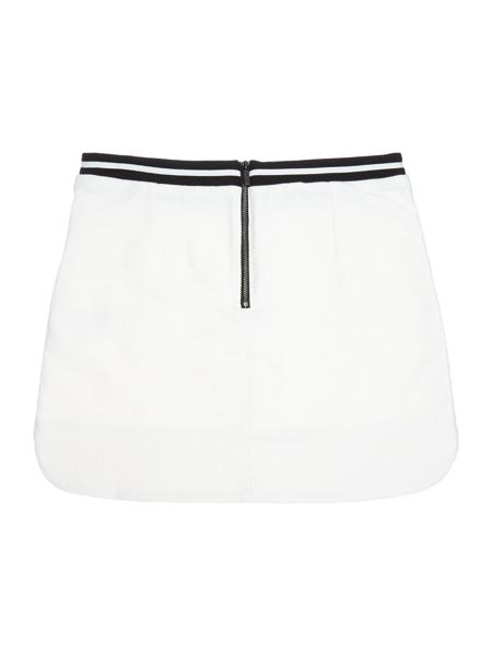 Karl Lagerfeld Girl Tweed effect skirt