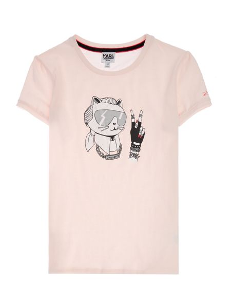 Karl Lagerfeld Girls Short sleeve t-shirt