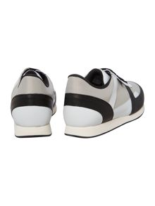 Boys Low cut bi-material trainers