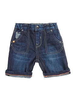 DKNY Baby boys Denim bermuda shorts