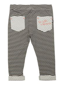 DKNY Baby girls Jersey leggings