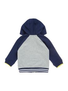 DKNY Baby boys Hooded fleece cardigan