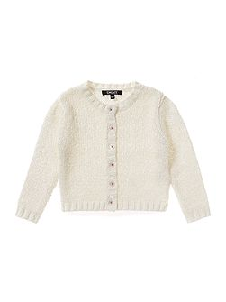 Baby girls Long sleeved knitted cardigan