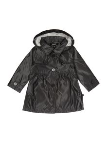 Baby girls Hooded trench coat