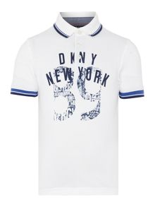 DKNY Boys Short sleeved polo shirt