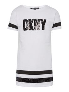 DKNY Girls Fleece dress
