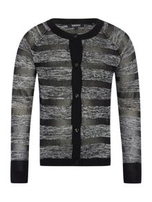 DKNY Girls Knitted cardigan