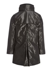 DKNY Girls Hooded trench