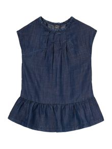 Hugo Boss Baby Girls Printed Denim Dress