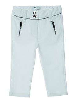 Baby Girls Cotton Interlock Trousers