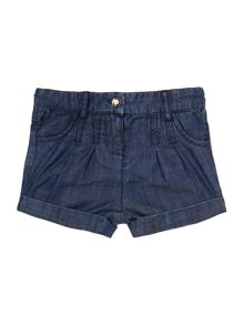Hugo Boss Baby Girls Denim Shorts