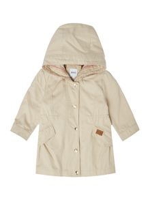 Hugo Boss Baby Girls Hooded Parka