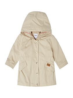 Baby Girls Hooded Parka