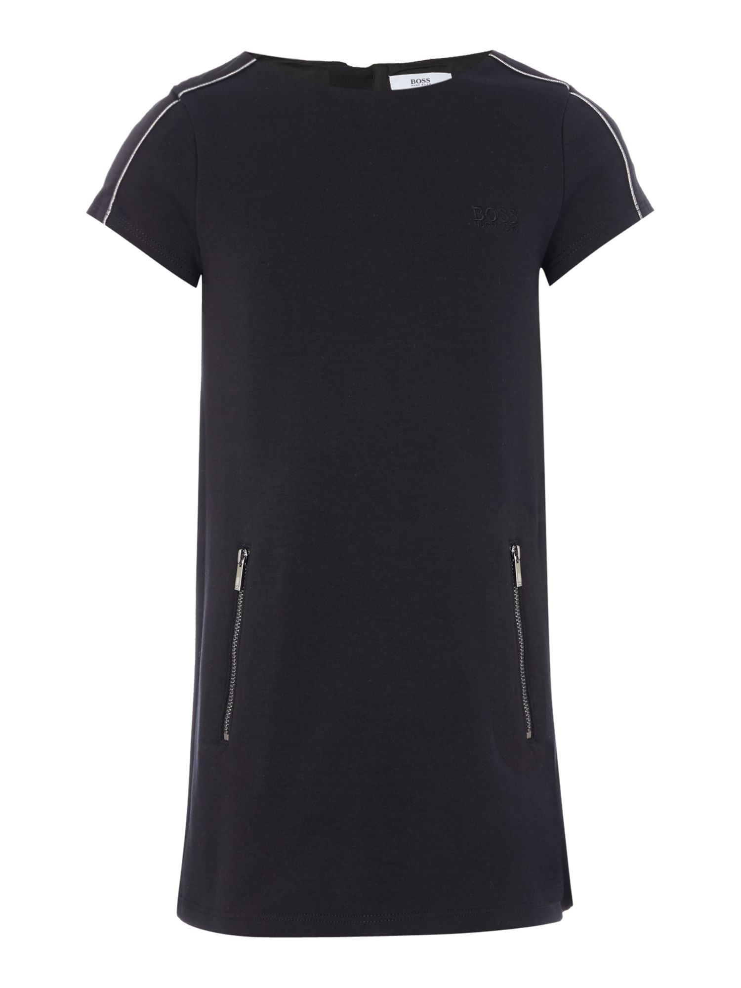 Hugo Boss Girls Zipped Back Dress