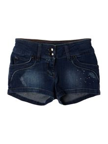 Hugo Boss Girls Denim Shorts