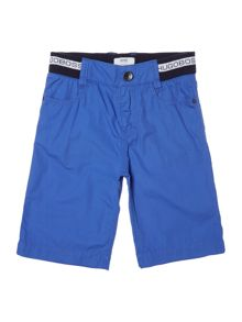 Hugo Boss Boys Poplin Bermuda Shorts