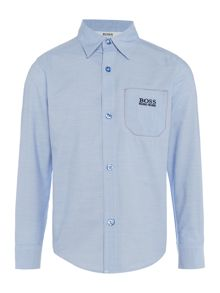 Hugo Boss Boys Poplin Shirt