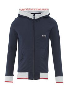Hugo Boss Boys Hooded Cardigan