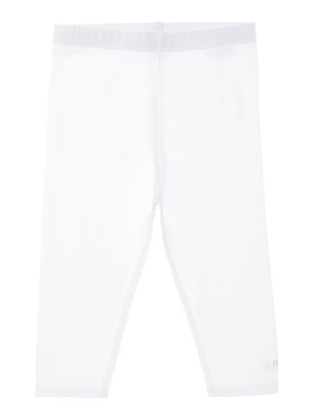 Hugo Boss Baby Girls White Leggings