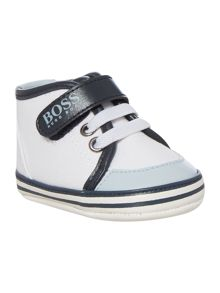 Hugo Boss Baby Boys Cotton Canvas Trainers