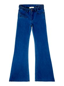 Une Fille Girls High waisted fit denim trousers