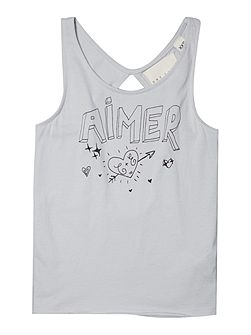 Girls Jersey tank top