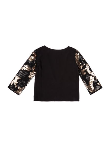 Une Fille Girls Sequined jacket