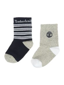 Timberland Baby boys Set of 2 pair of socks