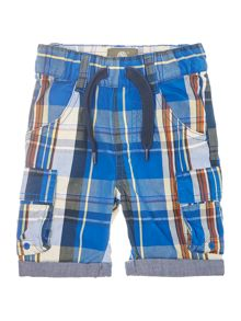 Timberland Baby boys Checked bermuda shorts