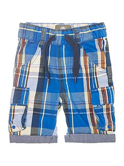 Baby boys Checked bermuda shorts