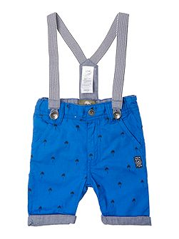 Baby boys Bermuda shorts with braces