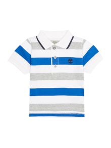 Timberland Baby boys Striped jersey polo shirt