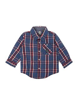 Timberland Baby boys Checked long sleeved shirt