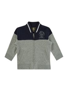 Timberland Baby boys Suede fleece cardigan